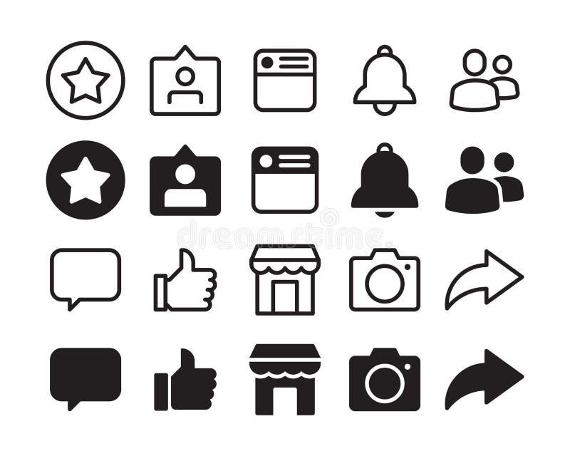 Vektor i CMYK-funktionsläge Logo design, universal, affär, socialt massmedia Perfekt PIXEL vektor illustrationer