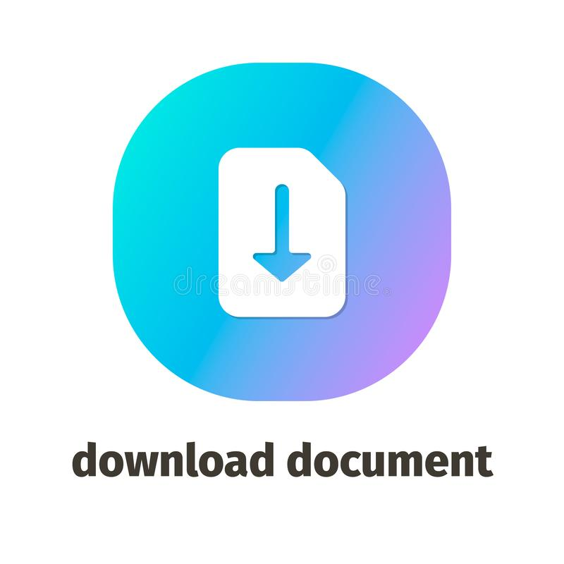Vektor-Ikonen für Netz und bewegliche Anwendungen lizenzfreie abbildung