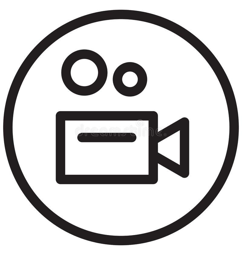 Vektor-Illustrationsikone der Unterhaltungs-einzelnen Zeile stock abbildung