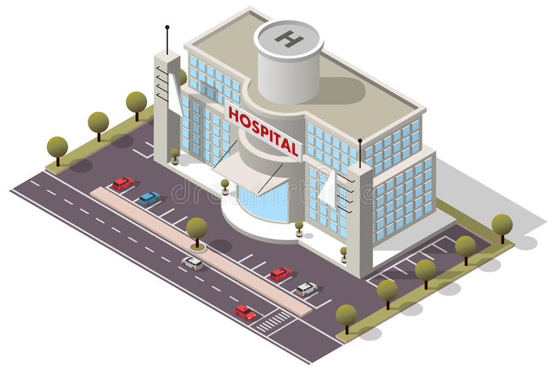 Krankenhaus Aufbau