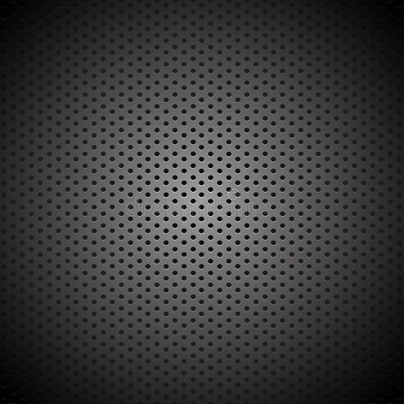 Vektor-Kohlenstoff-Faser-Hintergrundbeschaffenheitsnetz stock abbildung