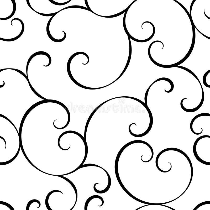 Vektor med best?ndsdelen f?r stil f?r guld- ramar f?r tappning den viktorianska Rokokogarnering Arabiska motiv Dekorativ illustra vektor illustrationer