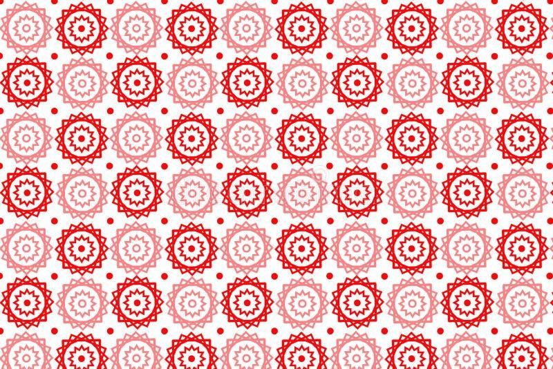 Vektor-nahtloses Muster - EPS-10 Auch im corel abgehobenen Betrag vektor abbildung