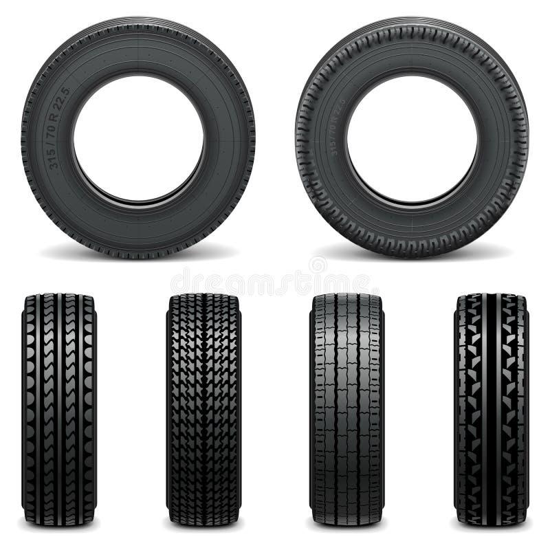 Vektor-Reifen-Ikonen vektor abbildung