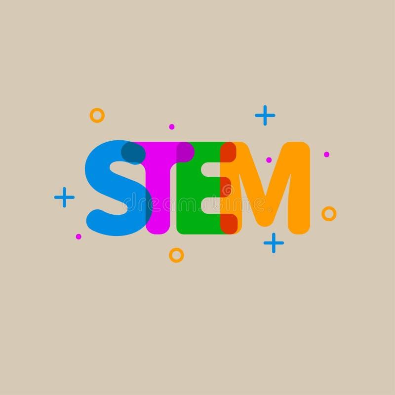 Vektor STAMM-Ikone vektor abbildung