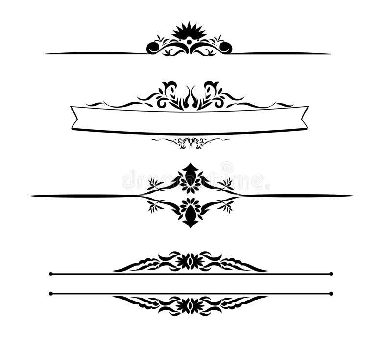 Vektor - Teiler stock abbildung