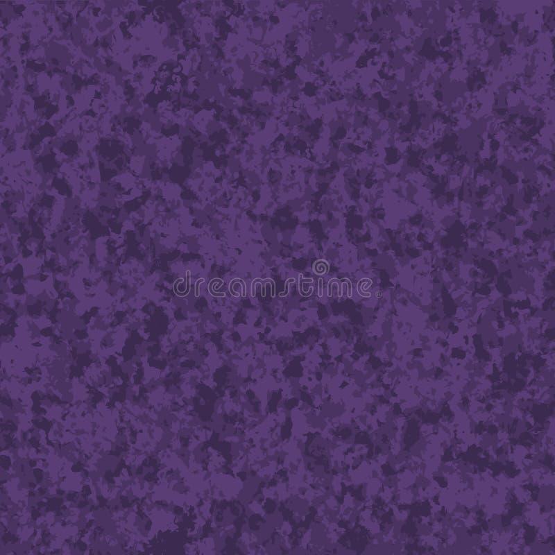 Vektor texturerad purpurfärgad sömlös modell abstrakt designgrunge vektor illustrationer