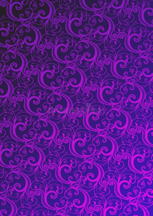 Vektorabbildung der rosafarbenen Tapete lizenzfreie abbildung
