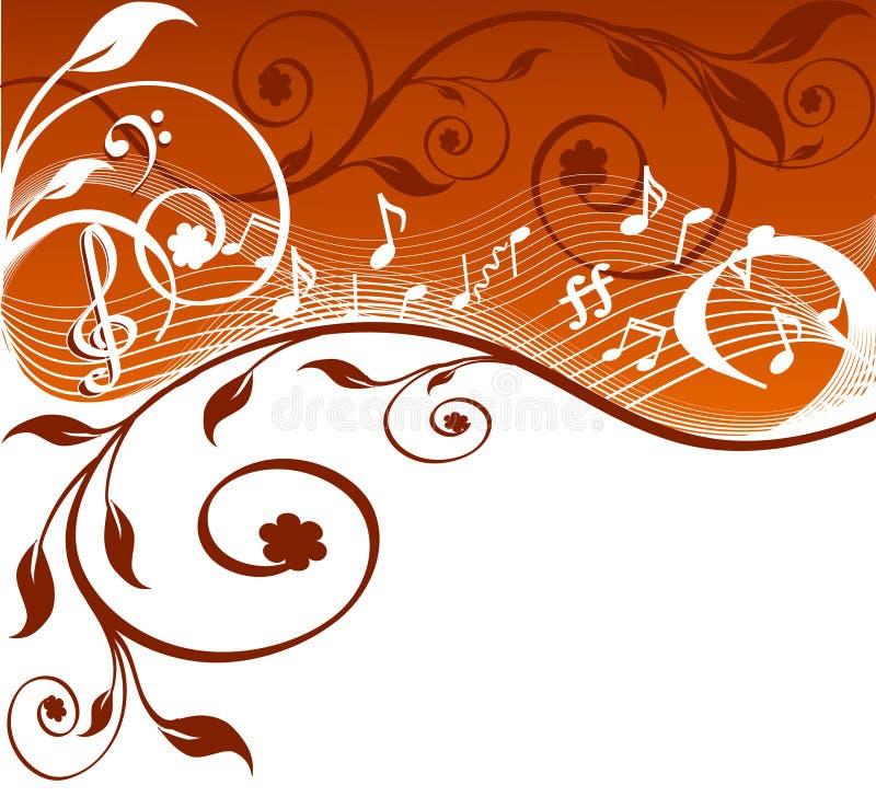 Vektorabbildung des Musikthemas vektor abbildung