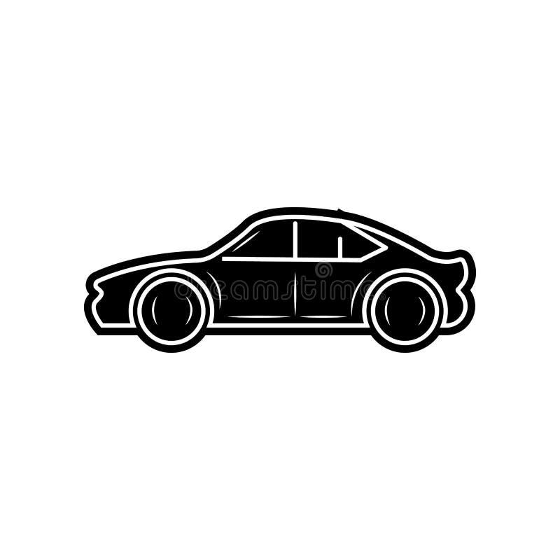Vektorabbildung EPS10 Element von Autos f?r bewegliches Konzept und Netz Appsikone Glyph, flache Ikone f?r Websiteentwurf und Ent stock abbildung