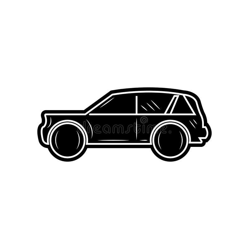 Vektorabbildung EPS10 Element von Autos f?r bewegliches Konzept und Netz Appsikone Glyph, flache Ikone f?r Websiteentwurf und Ent vektor abbildung