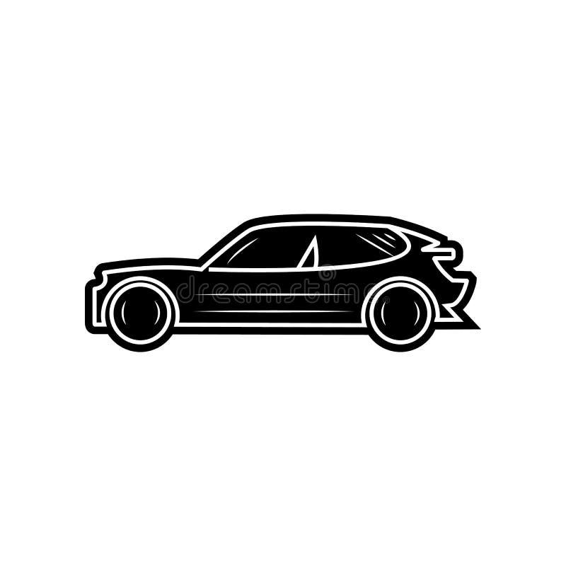 Vektorabbildung EPS10 Element von Autos f?r bewegliches Konzept und Netz Appsikone Glyph, flache Ikone f?r Websiteentwurf und Ent lizenzfreie abbildung