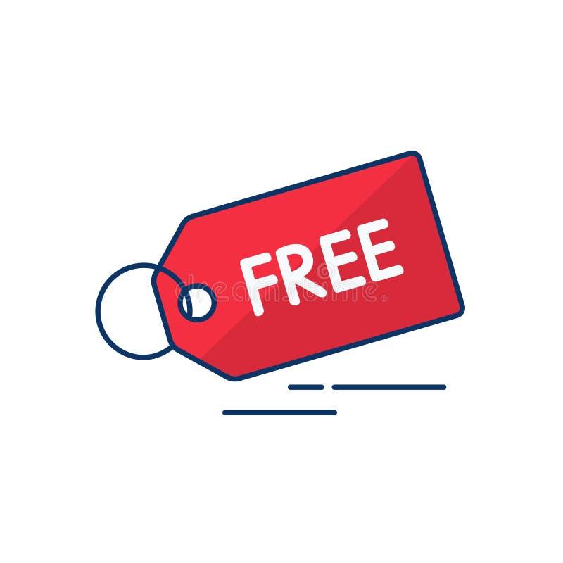 Vektorabbildung für Ihre Geschäftsgestaltungsarbeit Auch im corel abgehobenen Betrag Verkauf und freie Ikone in der Linie Kunstar stock abbildung