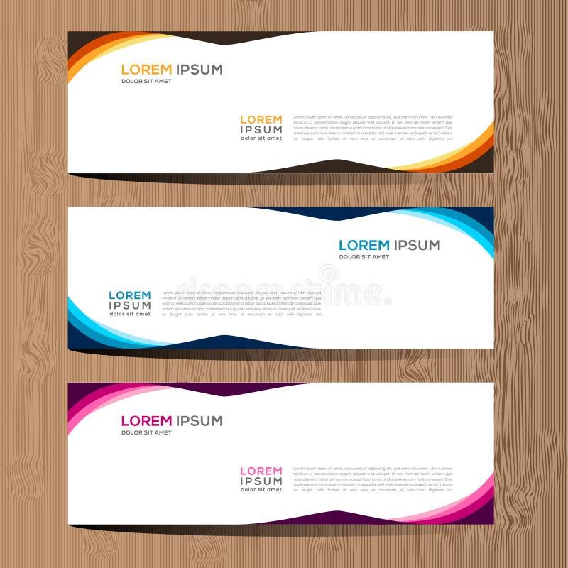 Vektorabstrakt begreppdesign för banerrengöringsdukmall och bakgrund Modern vektordesign eps 10 stock illustrationer
