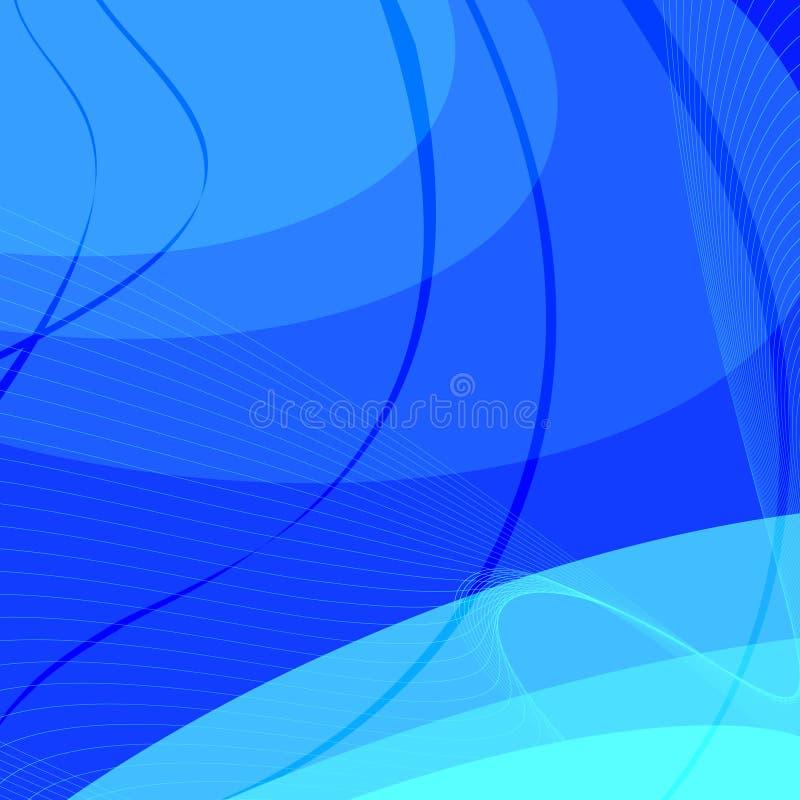 Vektorabstrakter Hintergrund stock abbildung