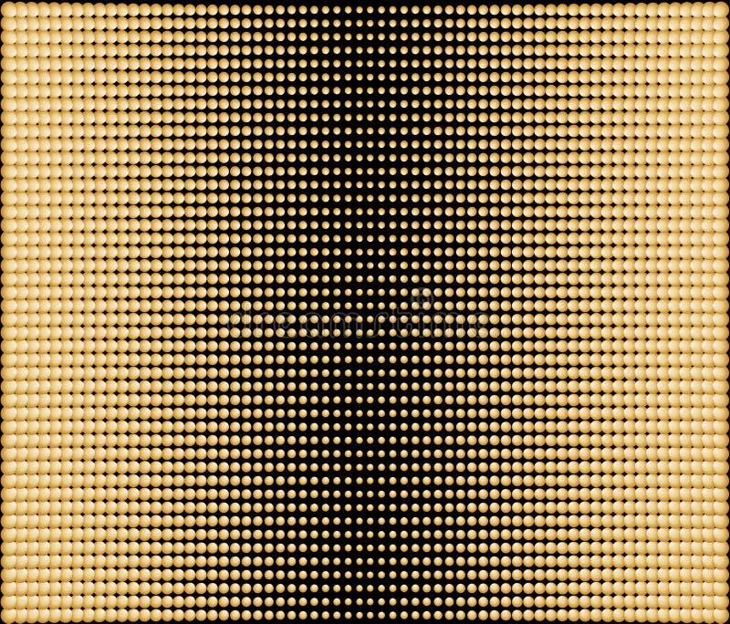 Vektorabstrakter Hintergrund vom Punkt vektor abbildung