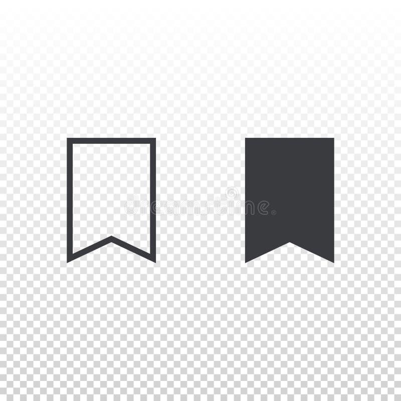 Vektorabwehrikone lokalisiert auf transparentem Hintergrund Element für beweglichen App oder Website der Entwurfsschnittstelle Zu stock abbildung
