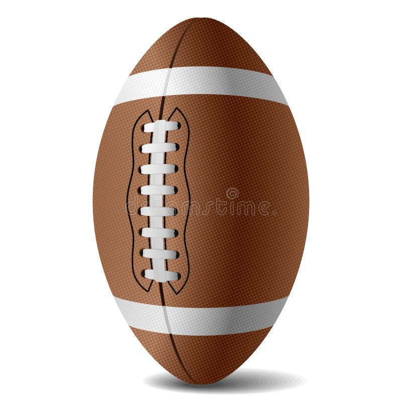 Vektoramerikanischer Fußball stock abbildung
