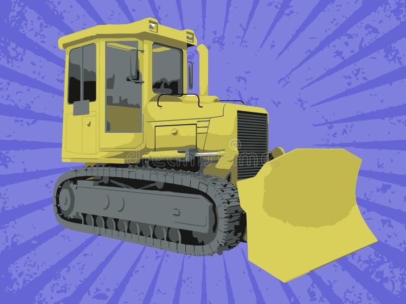 Vektoraufbau-LKW stock abbildung