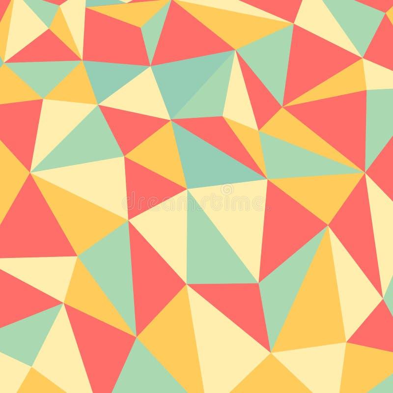 Vektorbakgrund och tapet för polygon abstrakt stock illustrationer