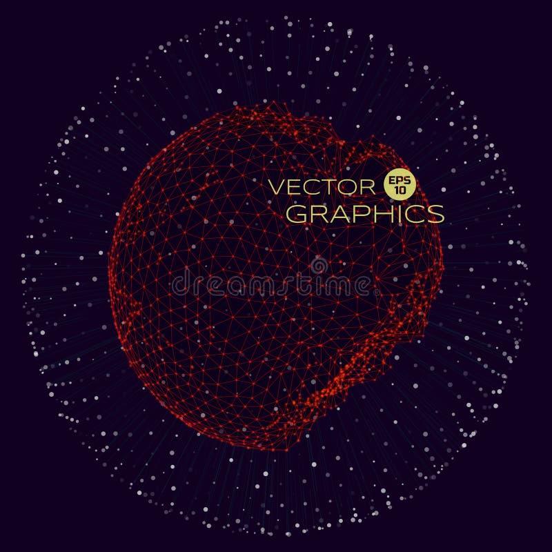 Vektorbegreppsdesign royaltyfri illustrationer