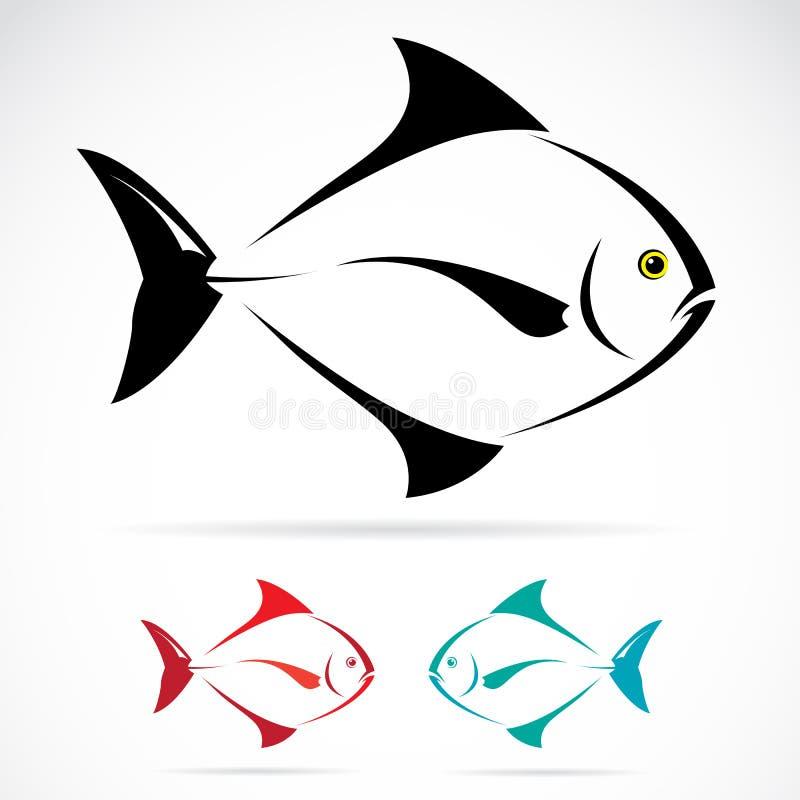 Vektorbild av en fisk vektor illustrationer