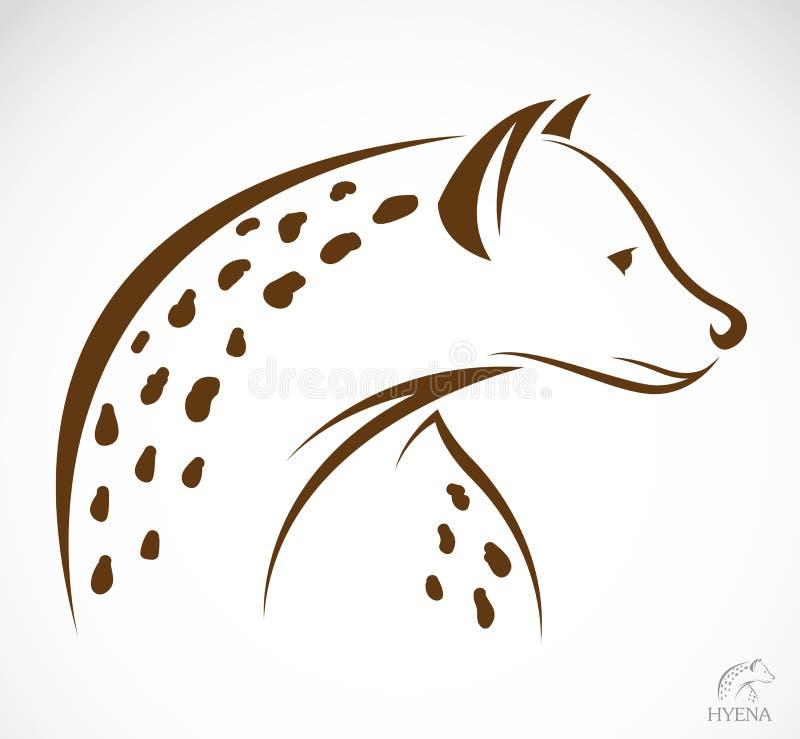 Vektorbild av en hyena vektor illustrationer