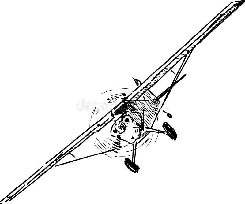 Fliegenfläche vektor abbildung
