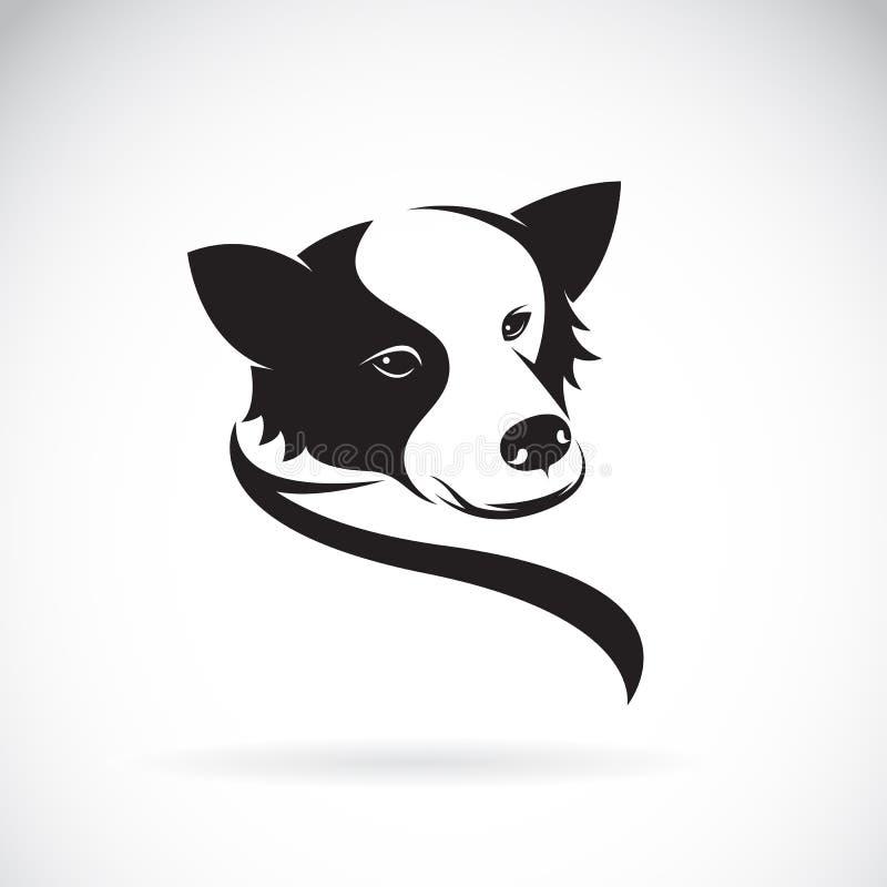 Vektorbild eines border collie-Hundes vektor abbildung