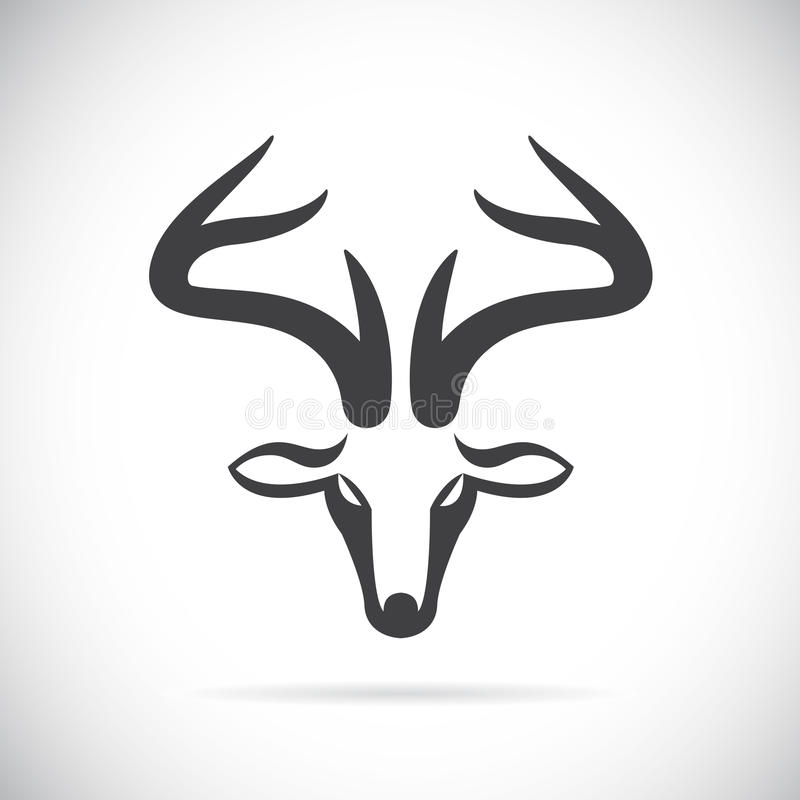Vektorbilder av hjorthuvudet
