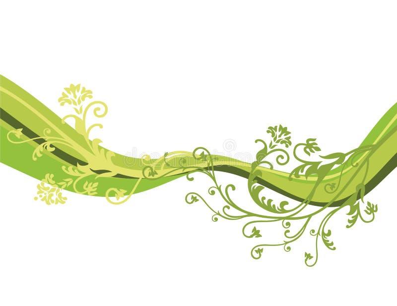 Vektorblumen getrennt lizenzfreie abbildung