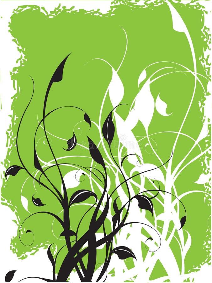 Vektorblumenhintergrund stock abbildung