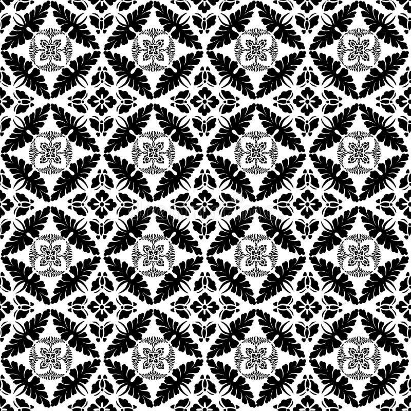 Vektorblumenmuster-Hintergrund stock abbildung