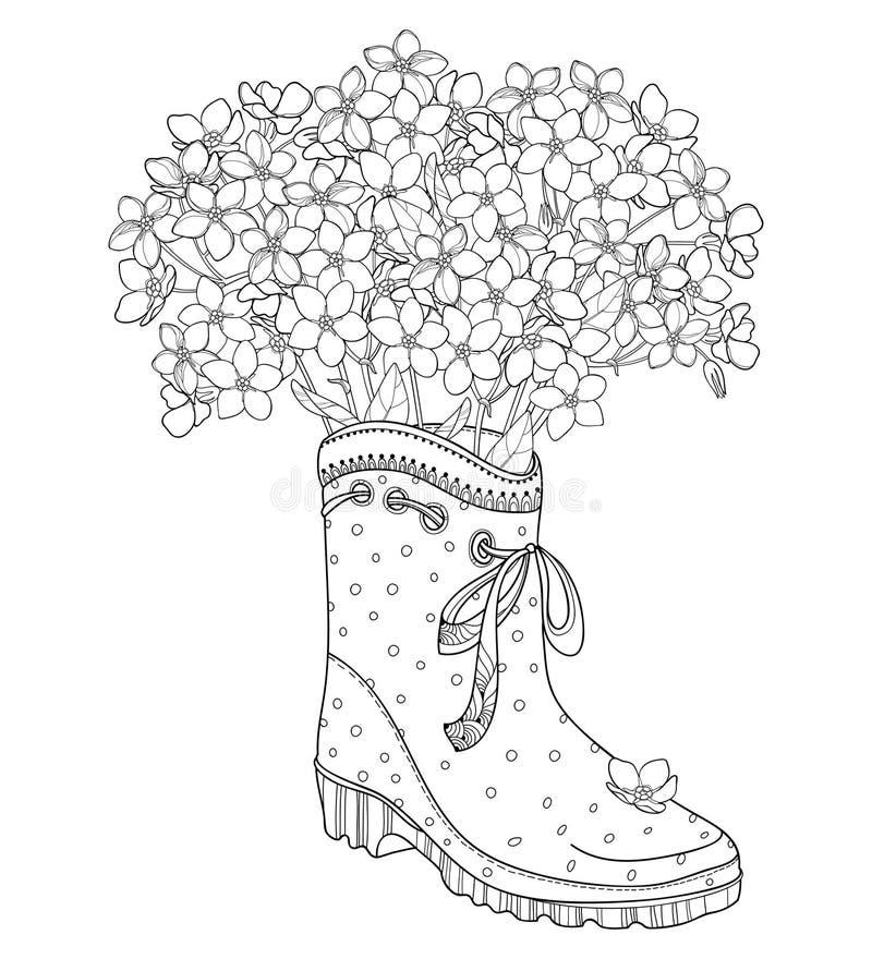 gummistiefel stock illustrationen vektoren  kliparts