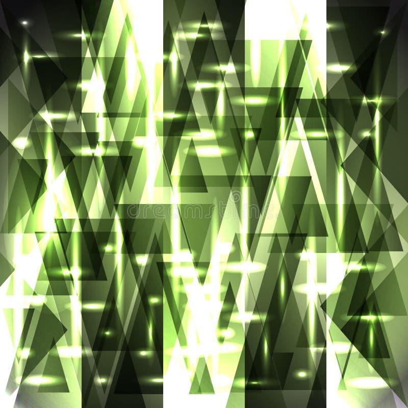Vektorbrusandemodell av ljusa träskremsor och fragment vektor illustrationer