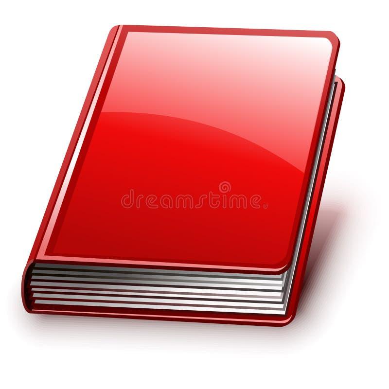Vektorbuch (Version ohne Zeichen auf Abdeckung) lizenzfreie abbildung