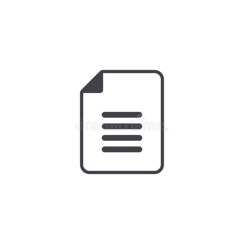 Vektordateiikone Entwurfsikone Dokumentenzeichen Dateisymbol Außer Taste Exportknopf Element für Entwurfsschnittstelle mobilen Ap stock abbildung