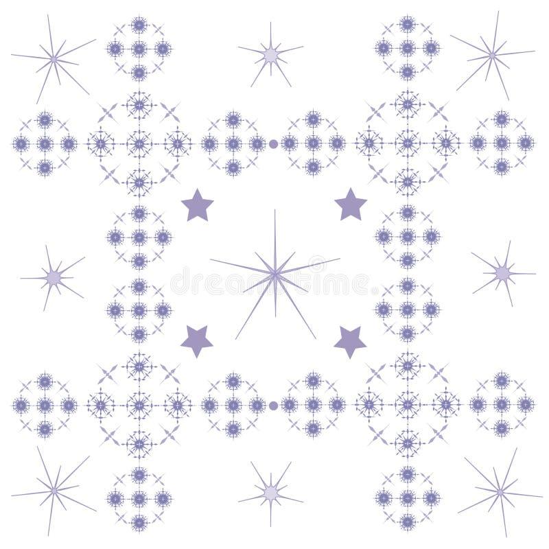 Vektordekorative Abbildung für grafische Auslegung stock abbildung