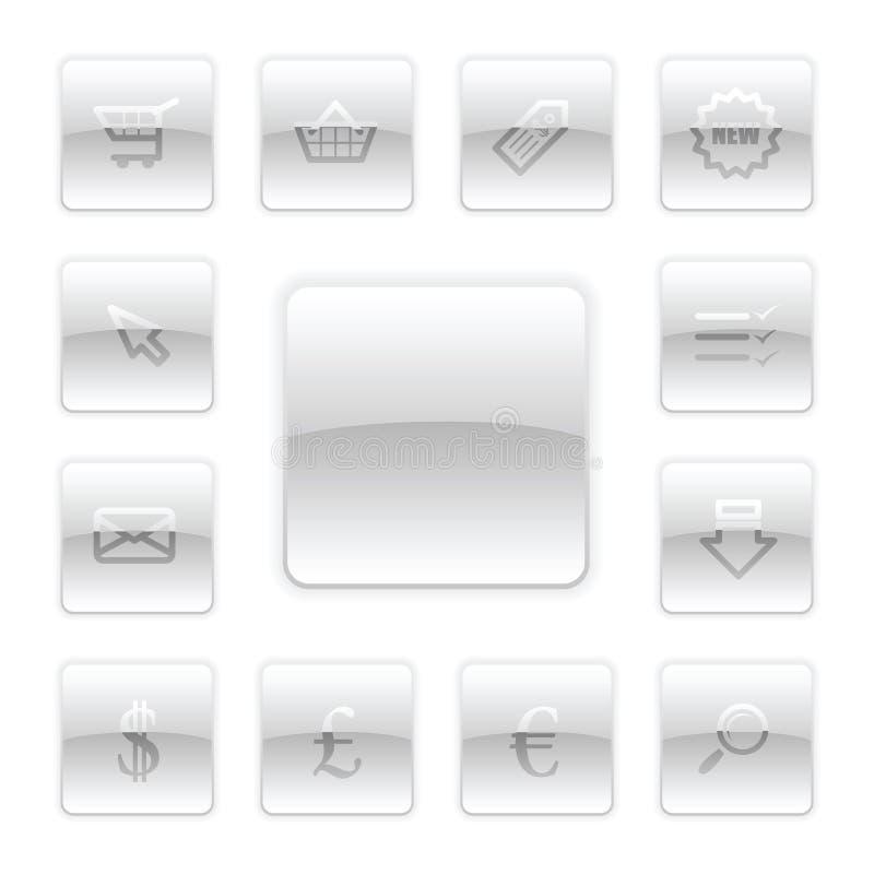 Download Vektorebusiness-Ikonen-Set vektor abbildung. Illustration von karte - 9094271