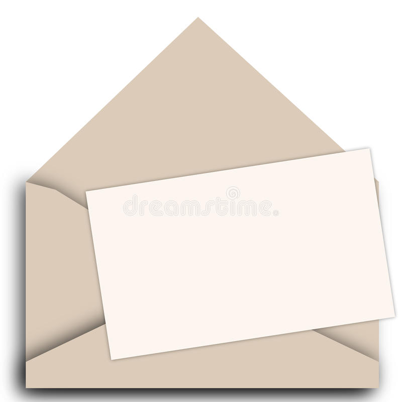 Vektoreinladungs-Kartenschablone lizenzfreie abbildung
