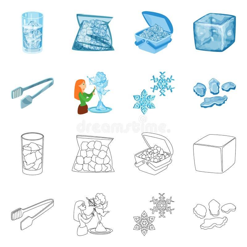 Vektorentwurf der Beschaffenheit und des gefrorenen Zeichens Sammlung der Beschaffenheit und des transparenten Aktiensymbols für  vektor abbildung