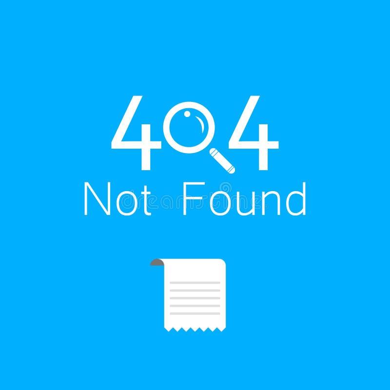 Vektorer gör sammandrag anslutningsfel för bakgrund 404 vektor illustrationer