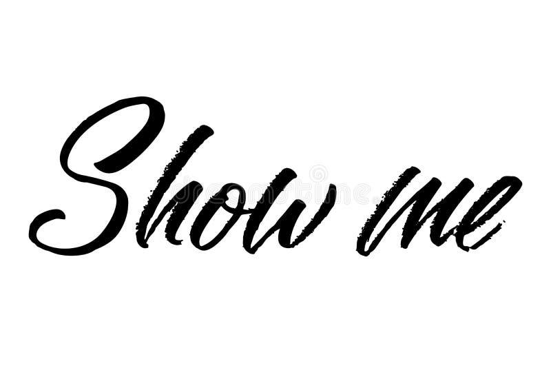 Vektorfärgpulverillustration Typografiaffisch på vit bakgrund  vektor illustrationer