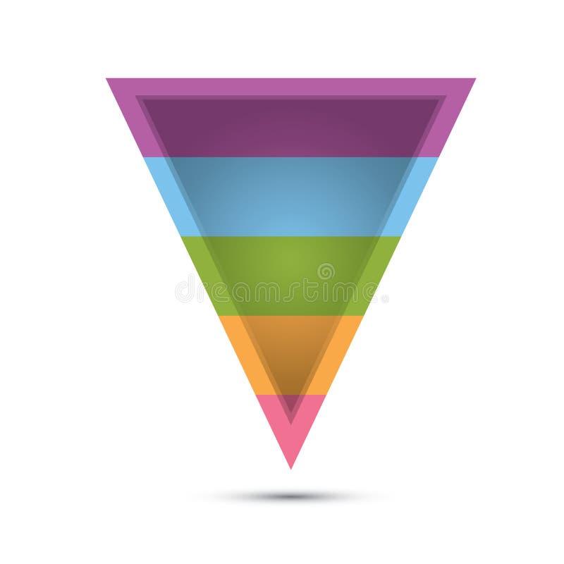 Vektorförsäljningstratt vektor illustrationer
