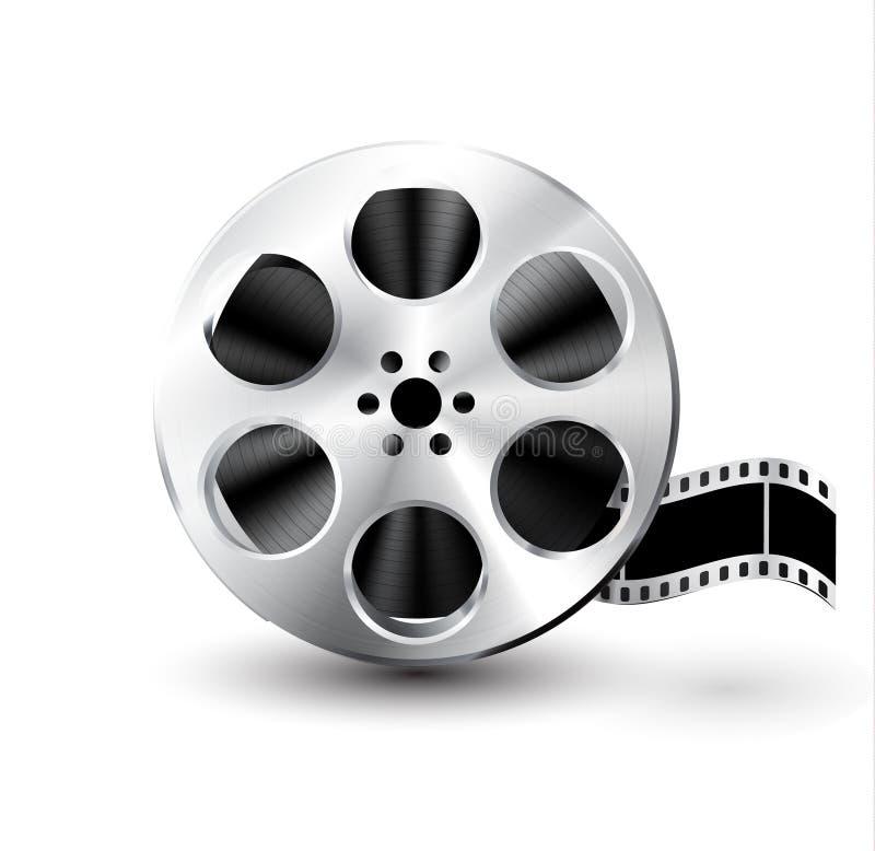 Download Vektorfilmbandspule stock abbildung. Illustration von bewegung - 26370687