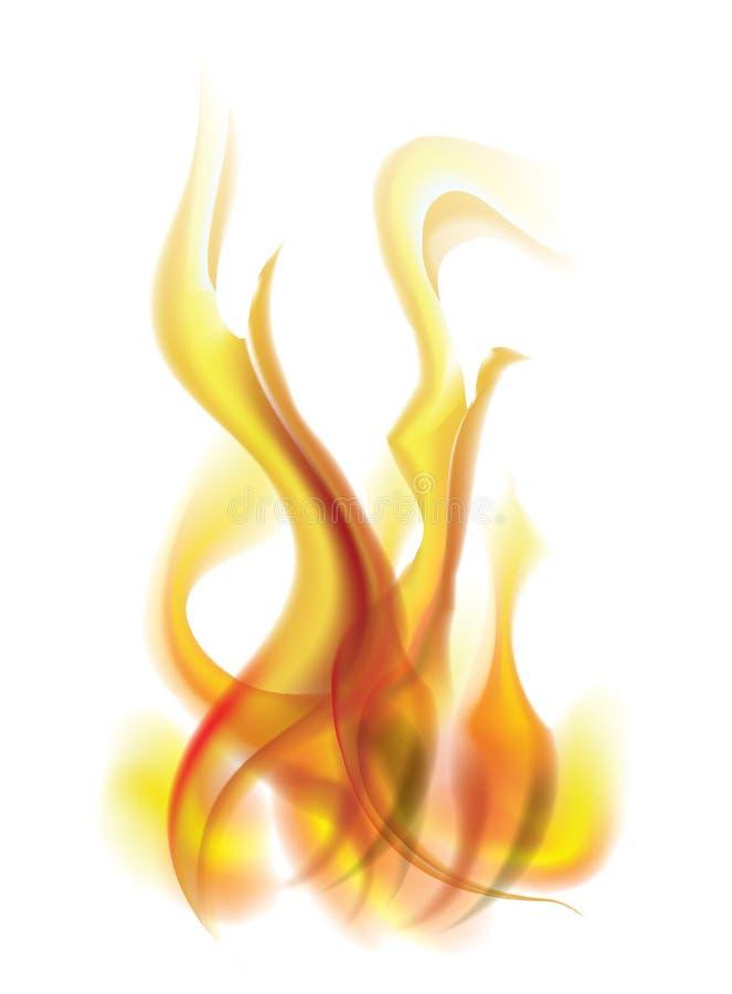 Vektorflamma royaltyfria foton