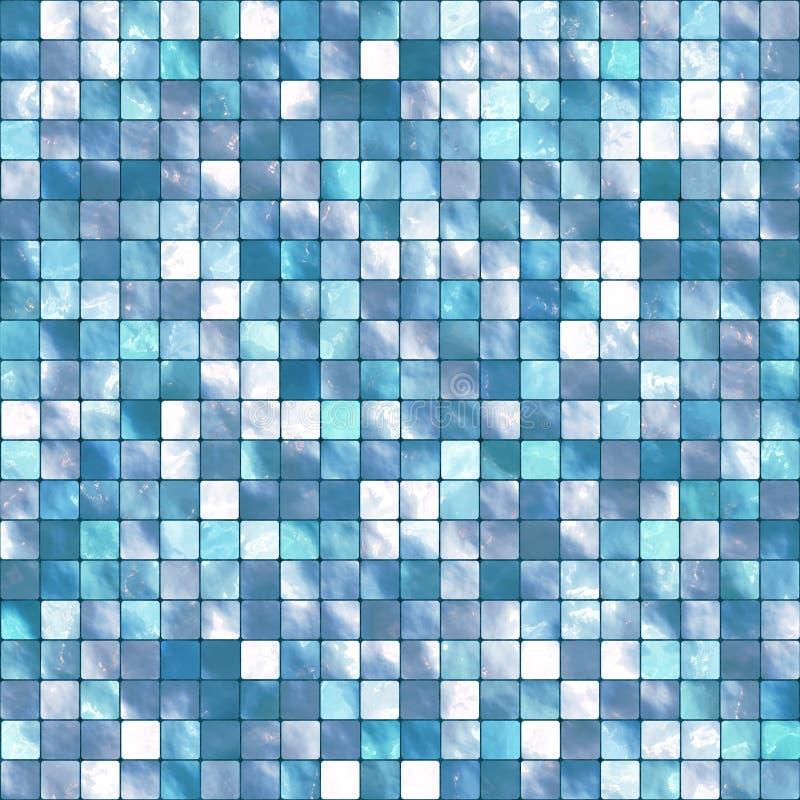 Vektorfliese-Mosaik-Hintergrund lizenzfreie abbildung