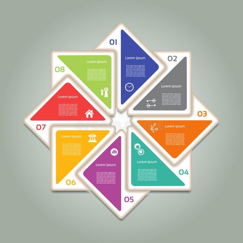 Vektorframstegbakgrund vektor illustrationer