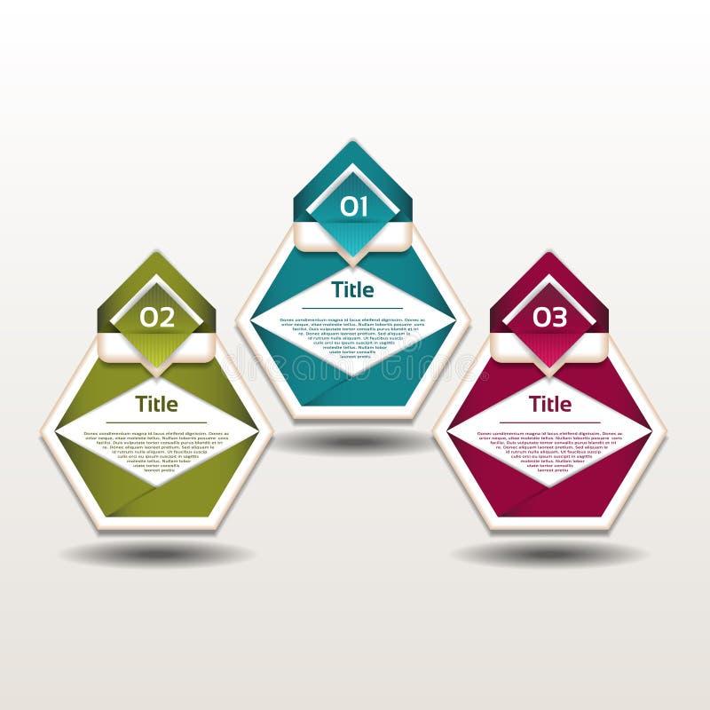 Vektorframstegbakgrund stock illustrationer