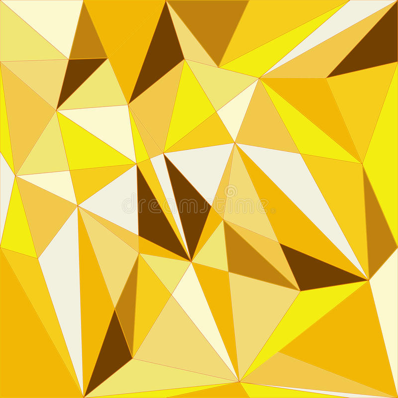 Goldener geometrischer Hintergrund stock abbildung